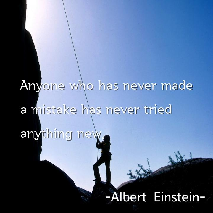 Anyone who has never made